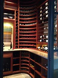 dallas corner wine rack cellar transitional with racks wooden room