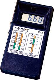 testing moisture content of concrete floors or slab