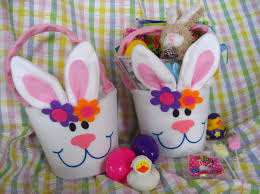 Easter Gift Baskets Personalized Handmade Toy Easter Gift Basket For Kids Family