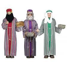three wise men costume kids christmas nativity fancy dress wise