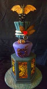 Unique Halloween Cakes 80 Best Steampunk Cakes Images On Pinterest Steampunk Wedding