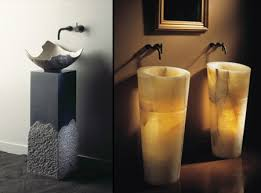 Contemporary Pedestal Sinks Bathroom Sinks And Creative Sink Designs