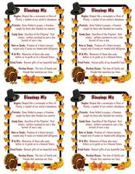 a manda creation thanksgiving blessings mix recipe printables
