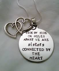Quotes For Sister Love by Cute Sisters Quote Side By Side Or Miles Apart By Templestamping