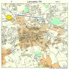 map of lancaster pa lancaster pennsylvania map 4241216
