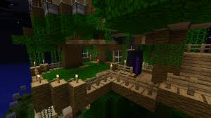 inside minecraft tree house minecraft pinterest minecraft