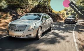 compare cadillac cts and xts cadillac xts car and driver