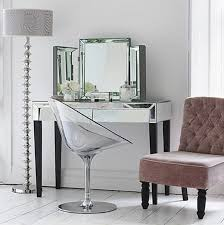 Dressing Table Vanity Adding Shine With Mirrored Furniture Dressing Tables Dressings