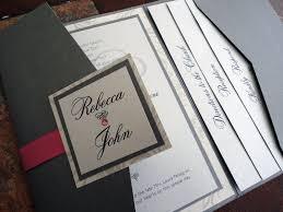 pocket wedding invitations aliexpress buy 2016 haoze birds pocket wedding for pocket