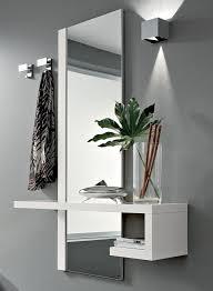 arredare ingresso moderno mobile ingresso moderno alba specchio consolle 2 appendini bianco