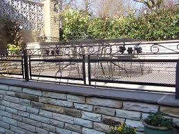 Garden Wall Railings by Showcase Garcia U0026 Sykes Steel And Iron Specialists