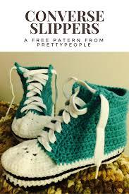 pattern crochet converse slippers prettypeople crochet converse slipper pattern
