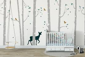 Nursery Stickers Tree Wall Stickers Nursery Ideas Forest Animal Wall Stickers