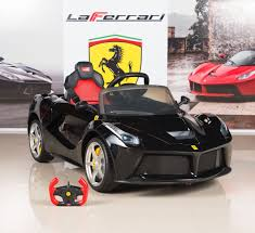 toddler motorized car amazon com bigtoysdirect 12v ferrari laferrari battery operated