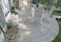 Backyard Cement Ideas Exceptional Backyard Cement Patio Ideas Best 25 Cement Patio