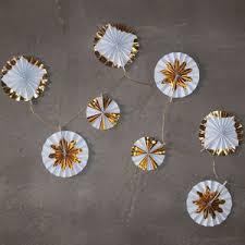 Pinwheel Decorations Gold Pinwheel Decorations By Idyll Home Notonthehighstreet Com