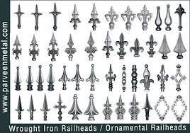 wrought iron railheads shop for sale in india parveen metal works