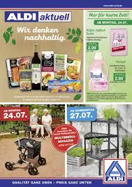 Rossmann Bad Langensalza Aldi Nord Prospekt 24 07 29 07 2017 Seite 1