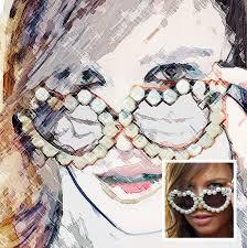25 artistic watercolor u0026 sketch effect photoshop actions web