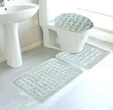Bathroom Contour Rug Sophisticated Bath Mat Sets Contour Bath Rug Sets Design