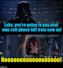 Funny Cell Phone Memes - star wars no meme imgflip