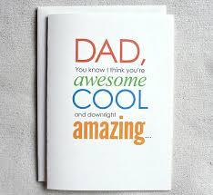 father birthday card funny dad you know i think you u0027re