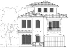 three story house plans home plan d9169