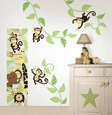 decals for walls with inspiring ideas wedgelog design image of monkey wall decals for nursery
