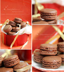 dailydelicious chocolate macarons with mars ganache special gift