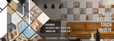 ceramic wall tiles series with size color and design variation by