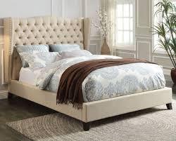 faye chocolate eastern king bed