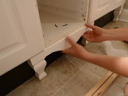 Add Trim To Kitchen Cabinets by Diy Furniture Style Cabinet Legs Kitchens And Furniture Styles