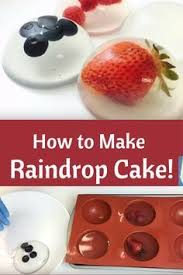 how to make a raindrop cake make a 3 ingredient raindrop cake