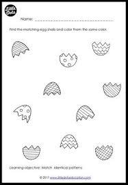 preschool patterns matching worksheets and activities little