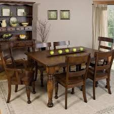 How To Size A Dining Room Table - how to choose a dining table size u2013 amish tables