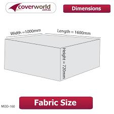 Cm Length Modular Style Sofa Cover - Patio sofa covers 2