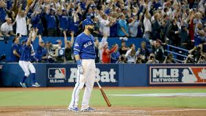 jose bautista home run bat flip leaves rangers p sam dyson unhappy