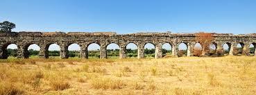 aqueduct of claudius aqua claudia rome park of aqueducts