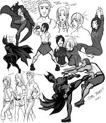 cassandra cain sketches by ex m on deviantart