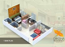 450 sq ft apartment design 1 bhk 450 sq ft floor plan 5 pleasant design square feet house map
