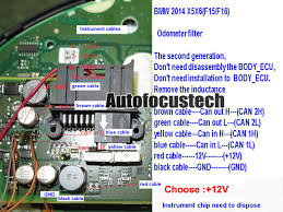 bmw f01 f02 f10 f15 f18 f20 f25 f30 f35 cas4 can block instrument