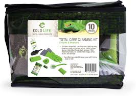 cold life 10 piece reptile tank u0026 terrarium cleaning kit chewy com