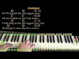 The Old Rugged Cross Hymn The Old Rugged Cross Keyboard Chords By Hymn Worship Chords