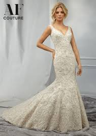 Morilee Bridal Allover Beaded Embroidery On A Net Wedding Dress