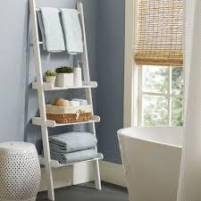 Bathroom Ladder Shelves Varick Gallery Lower West Side Bathroom Shelf Reviews Wayfair