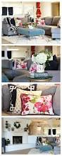 Gray Sofa Living Room by Best 25 Couch Pillow Arrangement Ideas Only On Pinterest
