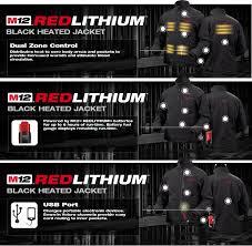 Milwaukee M12 Black Heated Jacket Only