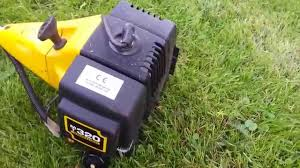 mcculloch mt 320 with p25 trimmer head youtube