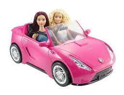 barbie volkswagen barbie glam convertible pink dream car mattel dgw23 ebay