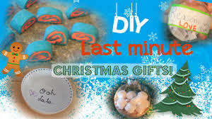 diy last minute christmas gifts super quick and easy youtube